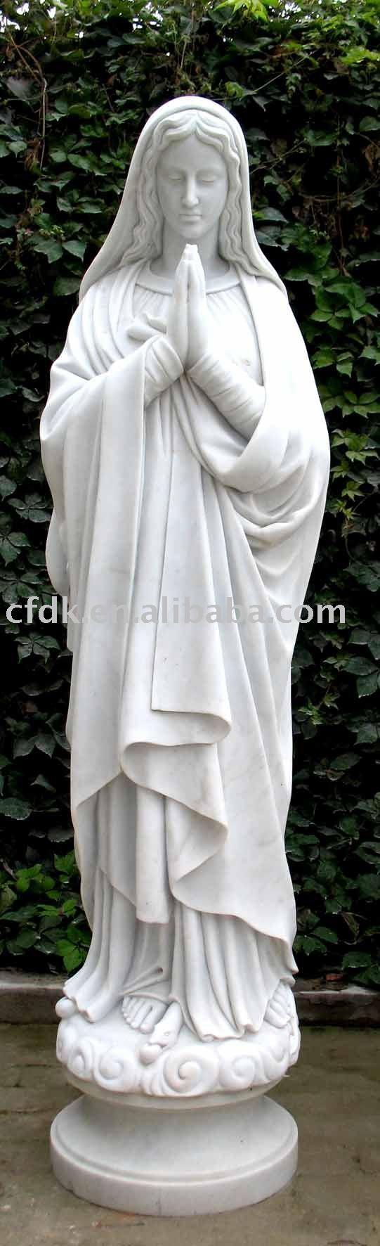 statue vierge marie en vente - Statues eBay