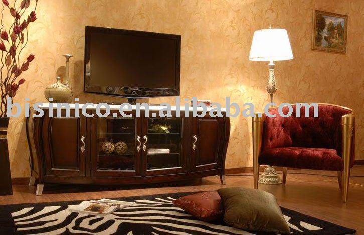 Armario De Sala De Tv ~ clássico de luxo sala de tv armário e cadeira do lazerArmários de
