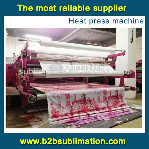 De gran formato de etiqueta de la prenda de tela de rotary - Papel de transferencia textil ...