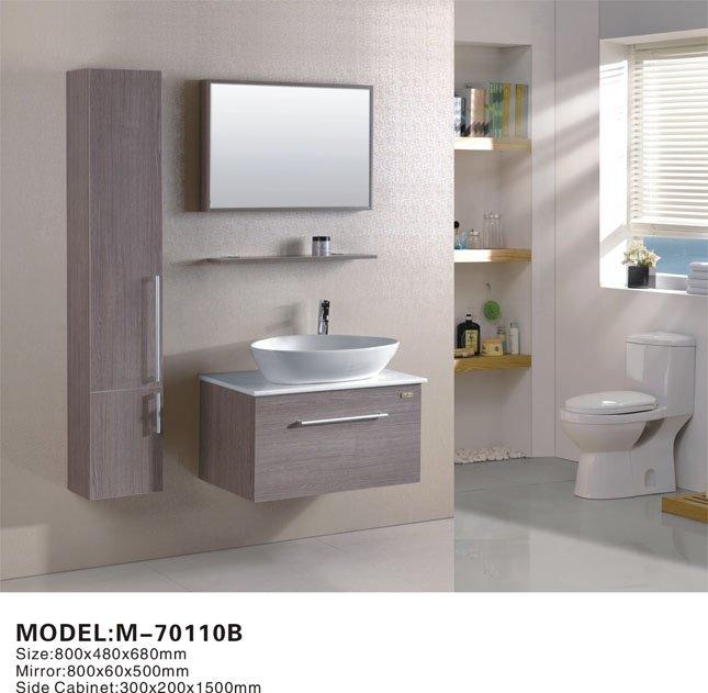 Gabinete Para Baño Madera:Soild moderna de madera muebles de baño-Tocadores de Baño