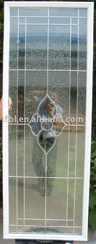Puerta de metal con vidrio puerta identificaci n del for Puertas de metal con vidrio