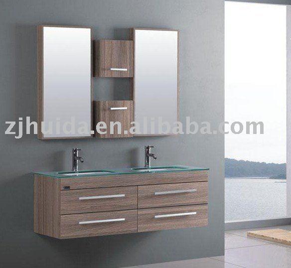 Lavabos Dobles Para Baño:Muebles de baño doble lavabo-Cuarto de baño Gabinete-Identificación