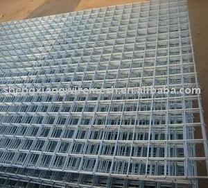 5x10 electro galvanis soud panneau de treillis m tallique usine fil de fer barbel id du - Treillis soude galvanise ...