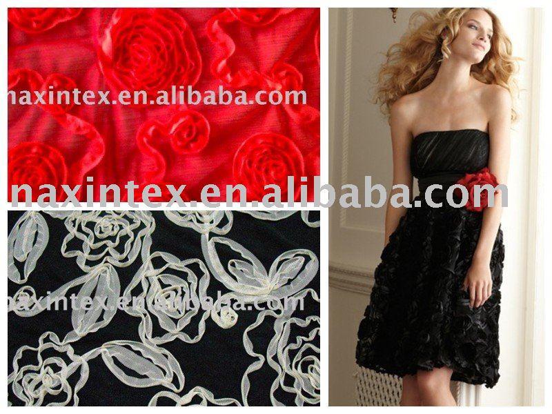 Схемы вышивки на вечернем платье