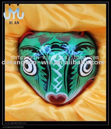 Marusero • Gari (7.0) Chinese_Traditional_Handmade_Clay_Craft_Snake_of_Twelve_Chinese_Zodiac_Signs