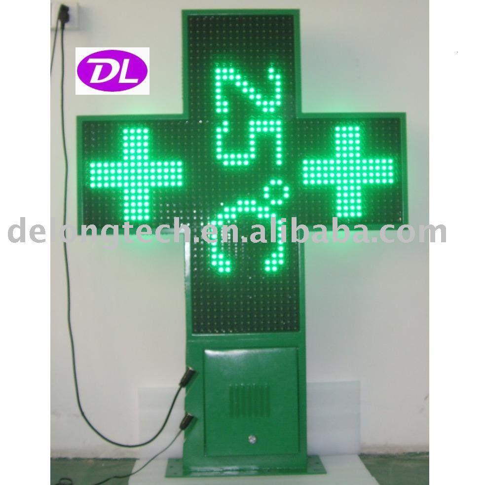 Ce et rohs p20mm 100cm vert ma sdip ext rieur affichage for Affichage led exterieur