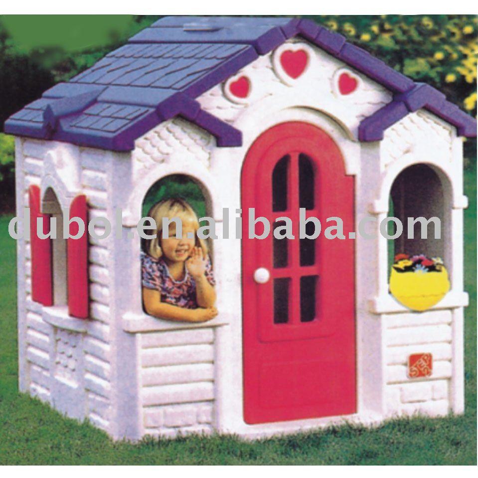 decorar cuartos con manualidades casitas de plastico para