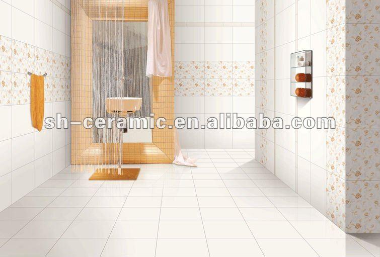 Azulejos Baño Grandes:Azulejos de cerámica vidriada para cuartos de baño ( shp45300b )