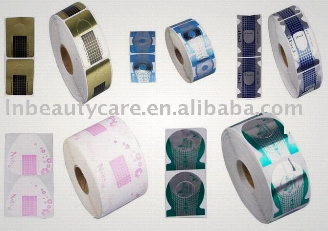 Acrylique nail forms double système formulaires et