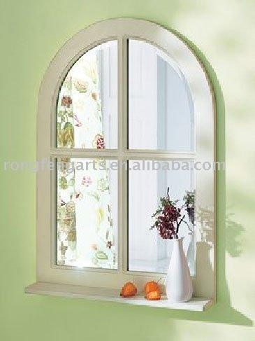 fen tre en forme de miroir avec plateau porteurs tag res de rangement id du produit 389241245. Black Bedroom Furniture Sets. Home Design Ideas