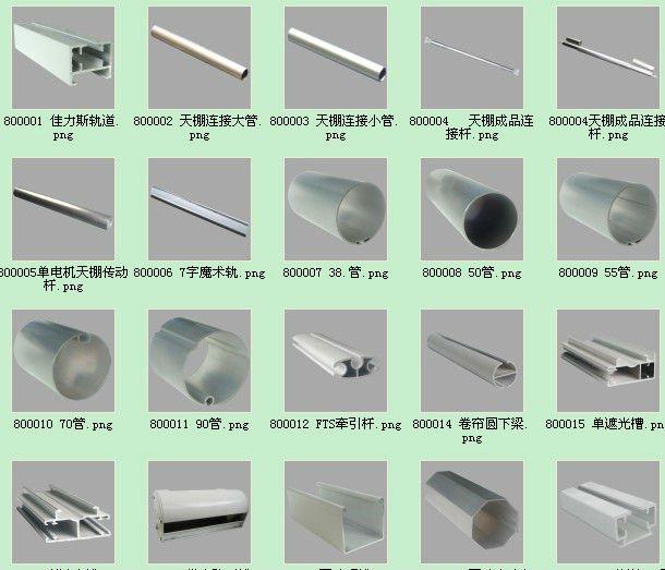 La f brica de china el perfil de aluminio ronda - Tipos de perfiles de aluminio ...
