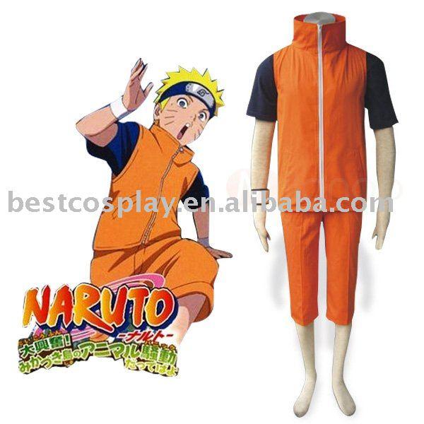Traje adulto de Naruto Shippuden Uzumaki Naruto Cosplay