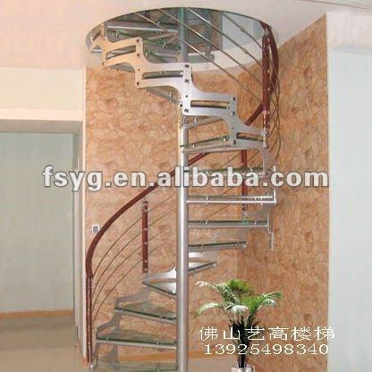 Buen precio de vidrio escalera de caracol 9003 5 escaleras - Precio escalera caracol ...