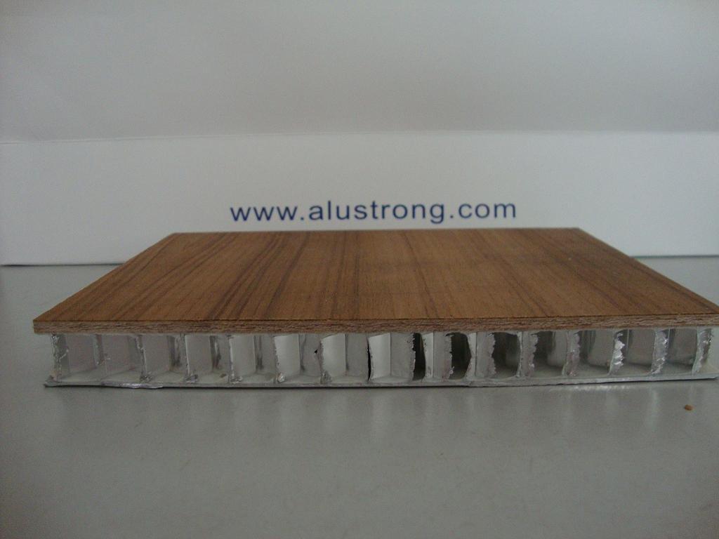 Legno tamburato pannello composito, alluminio legno ...