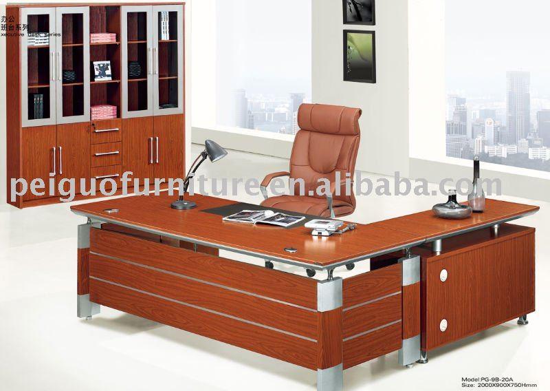 Nuevo 2011#shunde exective madera mdf pesebre muebles de oficina 22m