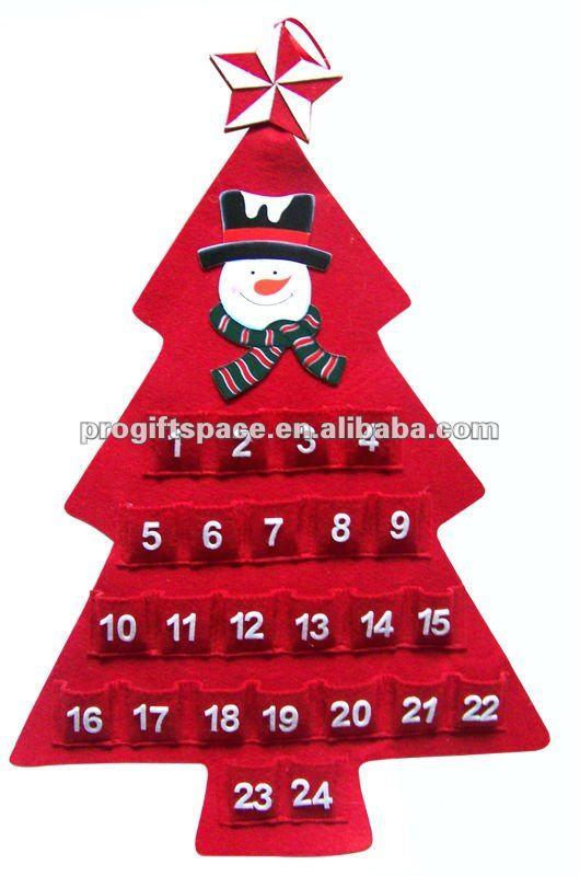 mejores imgenes sobre calendario de adviento en pinterest patrones fieltro y