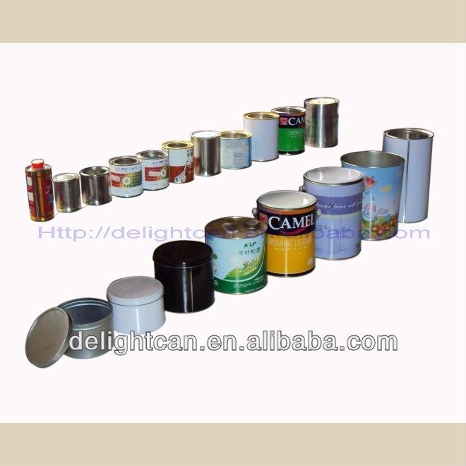 Boite ronde peut pour la peinture canettes id du produit 433112460 - Fabricant boite fer blanc ...