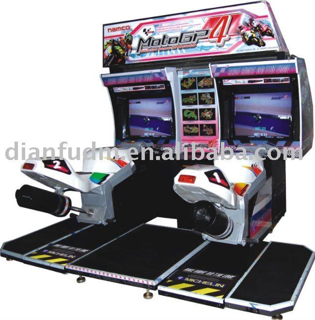 moto gp simulateur de conduite de course d 39 arcade jeu de voiture consoles de jeux vid o id du. Black Bedroom Furniture Sets. Home Design Ideas