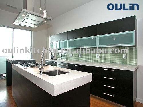 2011 mejor venta de estilo moderno de madera maciza for Estilos de gabinetes de cocina modernos