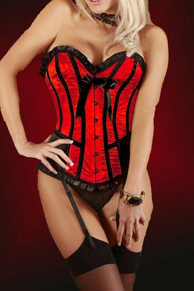 Signora rossa Underwear/orsacchiotto dell'increspatura