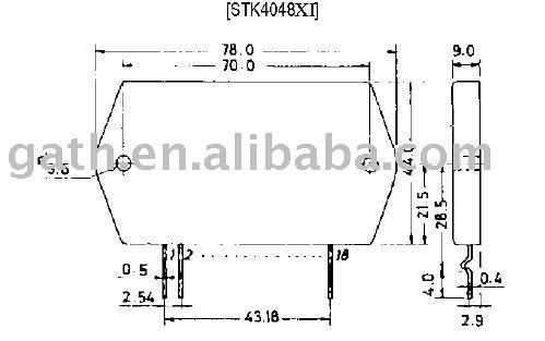 Stk4048xi sanyo микросхемы а ф звуковой усилитель глоток lt b gt lt b gt