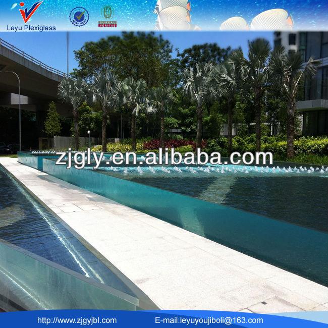 Ext rieur acrylique piscine du projet piscines for Piscine coque acrylique prix