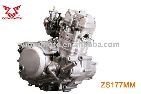 Двигун з водяним охолодженням О_О Zongshen_250CC_engine_NC_CB