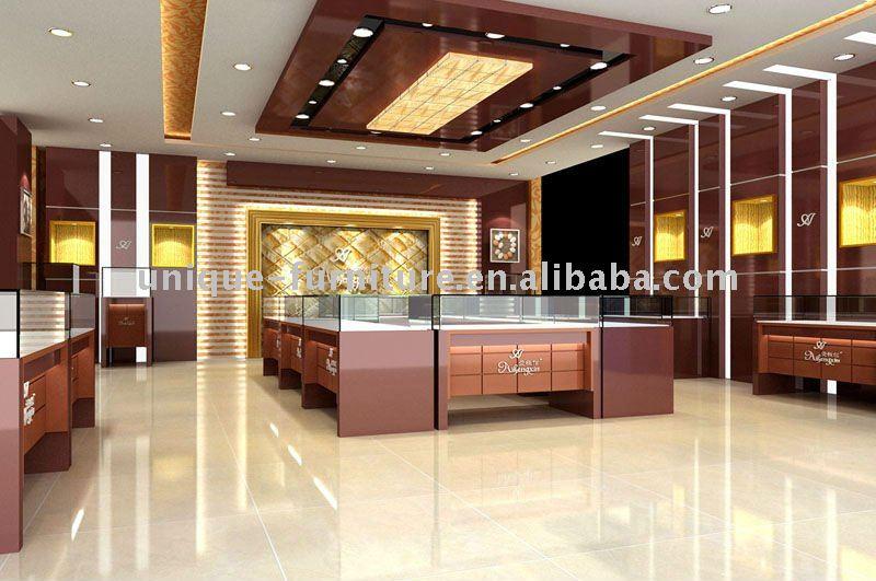 Jewellery Showroom Design Furniture