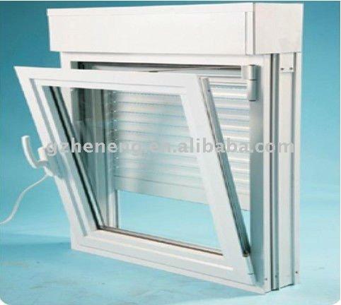 aluminium fen tre avec volet roulant integre maill e fen tres id du produit 465118571 french. Black Bedroom Furniture Sets. Home Design Ideas