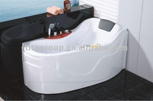 Baignoire courte de petite taille acrylique avec le massage