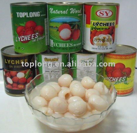 الليتشي - lychee Canned_lychees_in_syrup_Lychee_litchi_