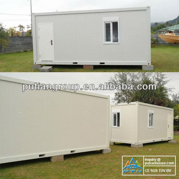 Casa modular se utiliza como la tienda de la calle for Oficina prefabricada