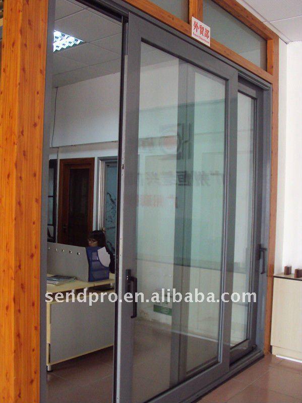 140tt aluk sistema de aluminio puerta corredera para el - Puertas de aluminio para exterior precios ...