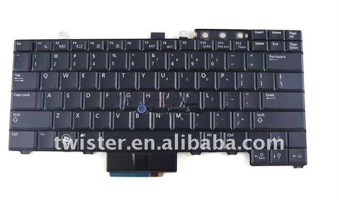 لوحة المفاتيح السوداء الولايات