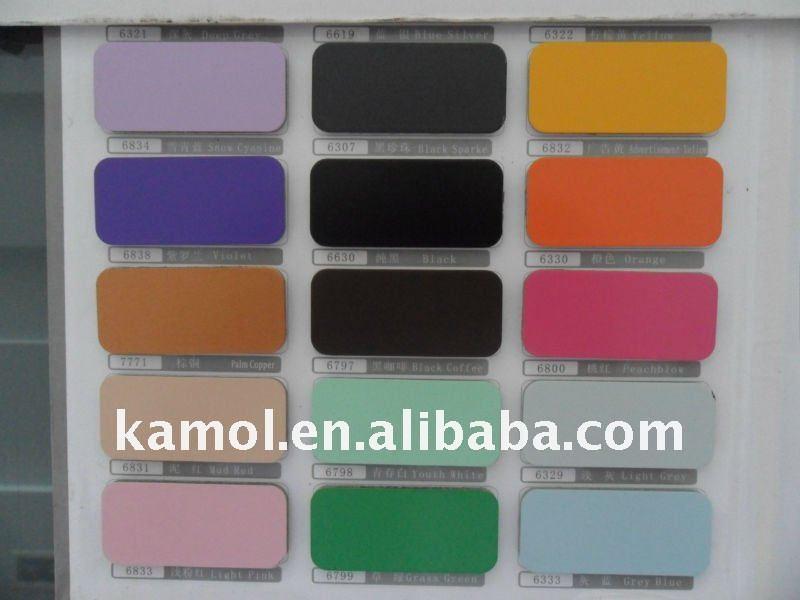 Colorido acp carta de color - materiales de construcción y materiales ...