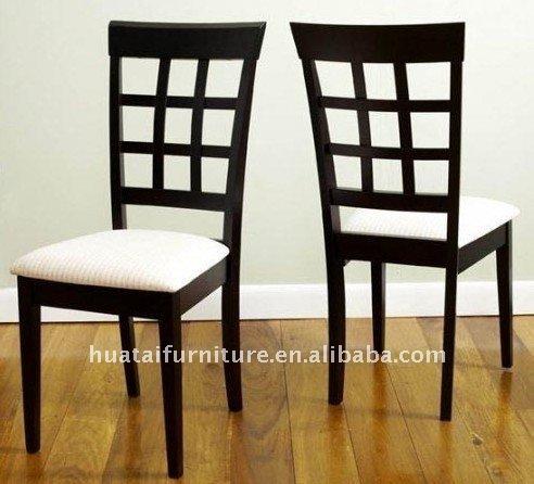 Tapizado de madera maciza silla de comedor sillas de - Tapizado de sillas de comedor ...