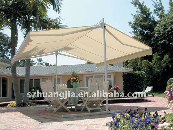 billige terrasse markisen freistehend markise sonnensegel. Black Bedroom Furniture Sets. Home Design Ideas