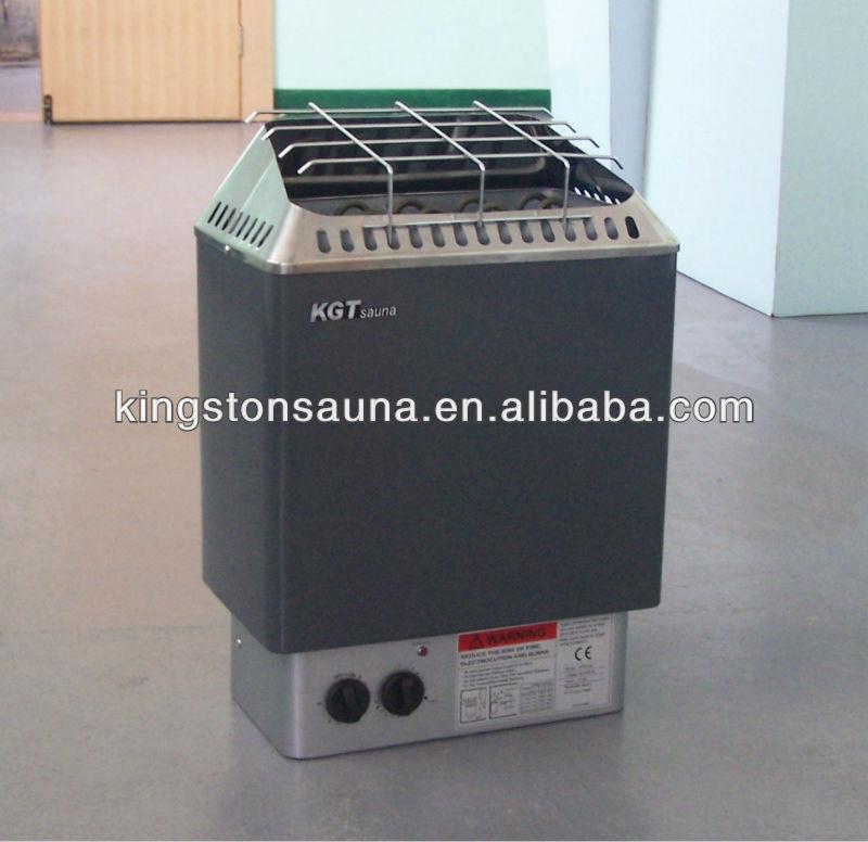 Port til 6kw el ctrico calentador de la sauna de madera - Calentador para sauna ...