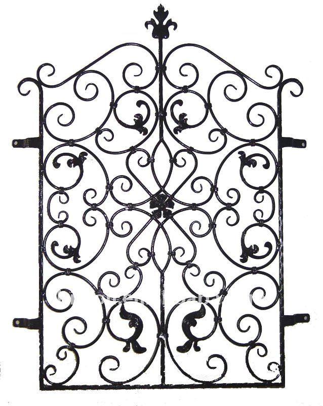Rejas hierro forjado toldos puertas ventanas genuardis - Rejas de hierro forjado ...