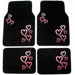 rose coeur tapis de voiture tapis tapis auto id du produit 493055158. Black Bedroom Furniture Sets. Home Design Ideas