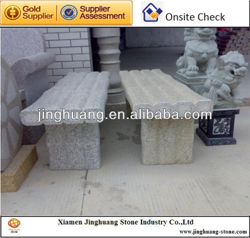 banc de jardin en granit table de jardin et des chaises. Black Bedroom Furniture Sets. Home Design Ideas