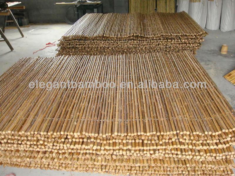 bambou cl ture jardin cl ture panneau avec naturel noir acajou brown couleurs cl tures. Black Bedroom Furniture Sets. Home Design Ideas