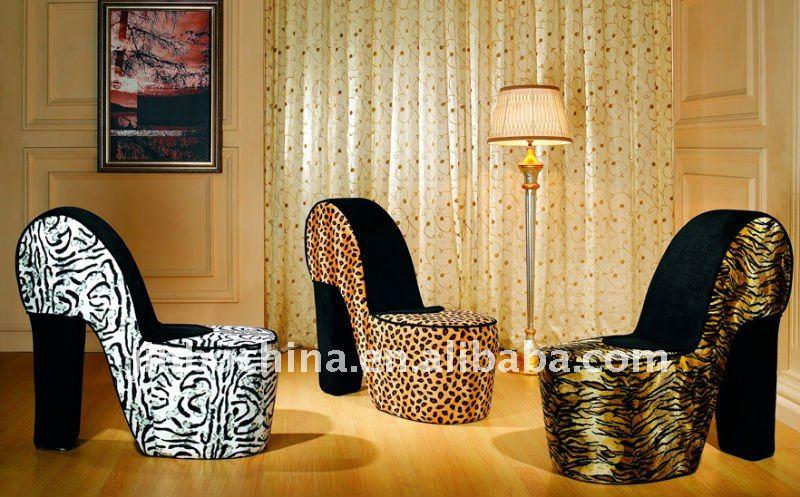 Forma de zapato de silla sillas sala estar identificaci n for Zapatos para sillas