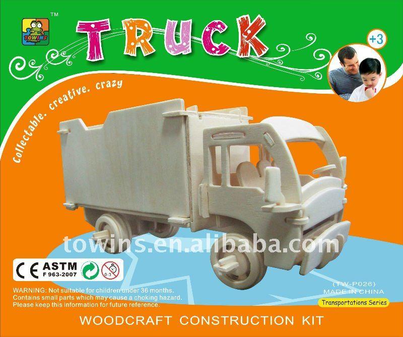 diy wooden toy truck | Cedar Woodworking Plans