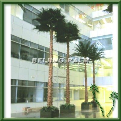 Palmier artificiel d 39 int rieur de 8m arbre d coratif de for Arbre decoratif interieur