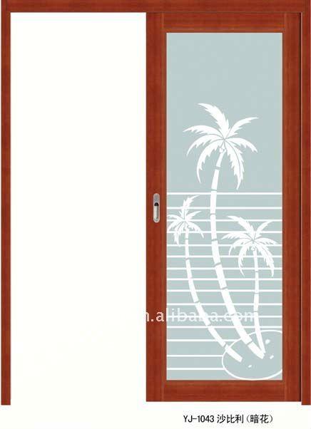 Laminas De Aluminio Para Puertas De Baño:puerta deslizante de aluminio para el cuarto de baño o la cocina