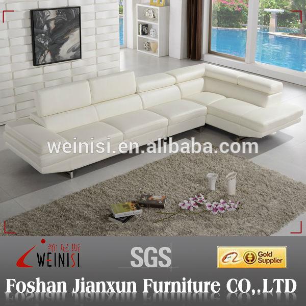 Europeo mobili divano in pelle italiana per soggiorno for Vendita di mobili di design