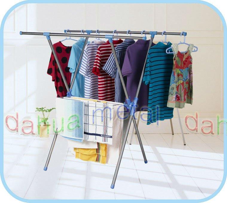 Plegable ropa tendedero muebles de soporte de suspensi n - Tendedero ropa plegable ...