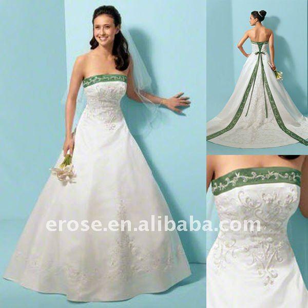 abbastanza Abito da sposa verde axis - Fashion touch italy EE33