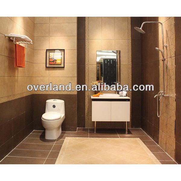 Non slip tiles for bathroom flooring